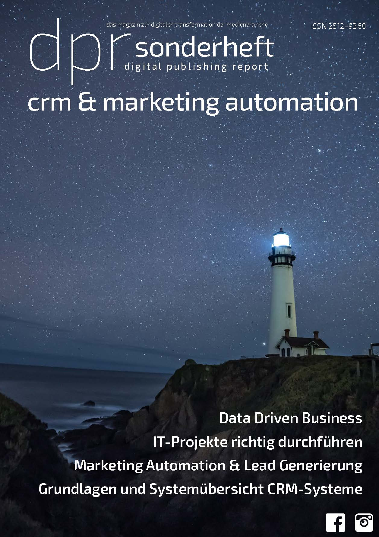 "Sonderheft ""CRM & Marketing Automation"""